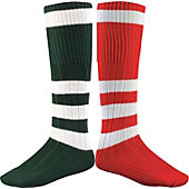 Twin City 4 Stripe Hoop Sock