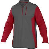 Rawlings Men's Quarter-Zip Fleece Pullover