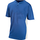 Baseball Express Adult Two-Button Baseball Jersey