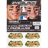 Brett Bros. MLB Eye Black Stickers with Logo (10 Pairs)