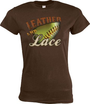 Team Express Gear Womens Leather and Lace T Shirt