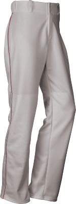 Baseball Express Mens Open Bottom Piped Baseball Pants