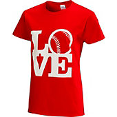 "Team Express Gear Womens ""Love"" Softball T-Shirt"