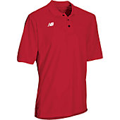 New Balance Men's Solid Short Sleeve Polo