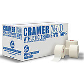 "Cramer 1.5"" White Athletic Tape - Case"