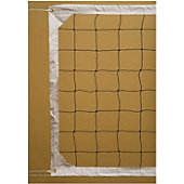 "Tandem 36"" Competition  Volleyball Net - Cable Top"