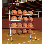 Tandem Sports 4 Tier Ball Rack
