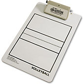 Tandem Sports Deluxe Volleyball Clipboard