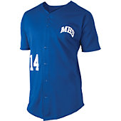 Team Express Gear Full Button Adult Mesh Jersey