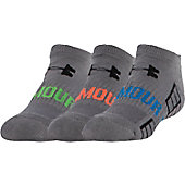 Under Armour Adult Beyond VI No Show Socks (3 Pack)