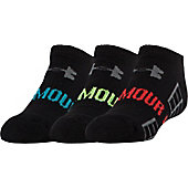 Under Armour Youth Beyond VI No Show Socks (3 Pack)