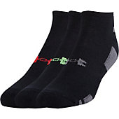 Under Armour Youth Heatgear No Show Socks (3-Pack)