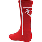 UA BASEBALL CREW SOCK YOUTH 14S