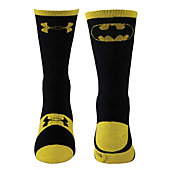 Under Armour Men's Alter Ego Batman Crew Socks