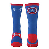 Under Armour Men's Alter Ego Captain America Crew Socks