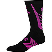 Under Armour Undeniable Power In Pink Crew Socks