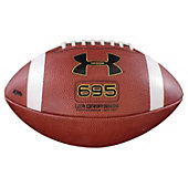 Under Armour Leather Game Football