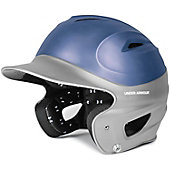 Under Armour Adult Two-Tone Anodized Chrome Batting Helmet