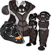Under Armour Junior Black Catcher's Set (Ages 9-12)