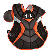 Under Armour Adult Blk/Org Pro Chest Protector