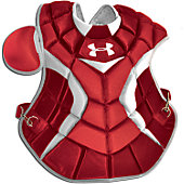 Under Armour Adult Scarlet Pro Chest Protector