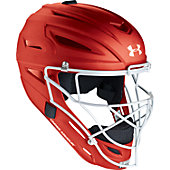 Under Armour Youth Pro Head Gear Matte Catcher's Helmet