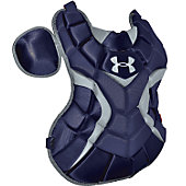 "Under Armour Women's Navy 14 1/2"" Chest Protector"