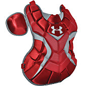 "Under Armour Women's Red 14 1/2"" Chest Protector"