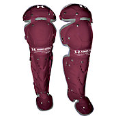 Under Armour Women's Maroon Catcher's Leg Guards