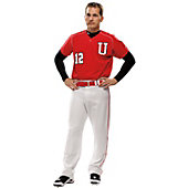 Under Armour Youth Stock Diamond Mesh Baseball Jersey