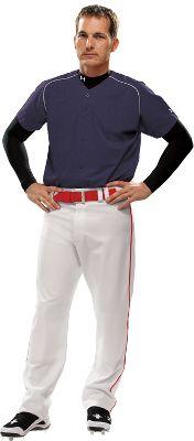 Under Armour Youth Stock Diamond Mesh Baseball Jersey