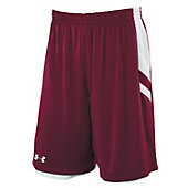 UA MENS UNDENIABLE REV BSKBALL SHORTS 11H