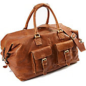 "Rawlings Rugged 19"" Leather Duffel Bag"