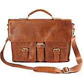 Rawlings Rugged Leather Messenger Bag