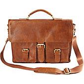 Rawlings Rugged Leather Messenger Bag