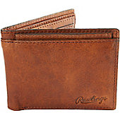 Rawlings Rugged Bi-Fold Leather Wallet