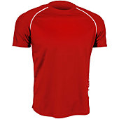 Verdero Men's V-Cool Short Sleeve Performance Shirt with Piping
