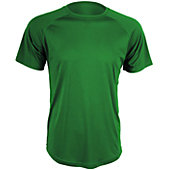 Verdero Men's V-Cool Short Sleeve Solid Performance Shirt