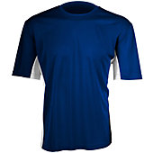 Verdero Men's V-Cool Short Sleeve Performance Shirt with Panels