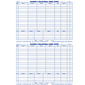 GLOVERS VOLLEYBALL SCORING & STATS REFILL SHEETS