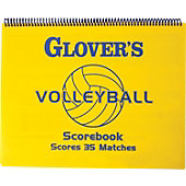 Glover's Scorebooks Short-Form Volleyball Scorebook