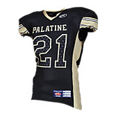 Rawlings Vaporfusion Custom Adult Stripe Football Jersey