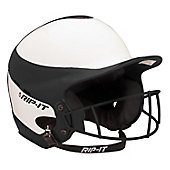 RIP-IT Vision Pro Softball Batting Helmet with Facemask - Ad