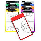 "KBA Large 12"" x 18"" Basketball Coaching Clipboard"