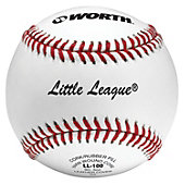 Worth LL-100 Official Little League Baseball (Dozen)