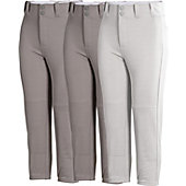 Rawlings Youth Solid Baseball Pants (3 Pack)