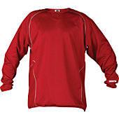 Worth Men's Long Sleeve Fleece Pullover