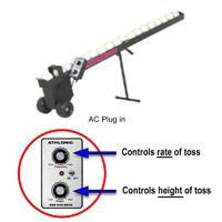 Athlonic Wheeler Dealer Battery Toss Machine   Softball Hitting Aids