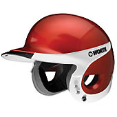 Worth Adult Liberty Away Reverse Red Batting Helmet