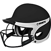 Worth Liberty Away Fastpitch Batting Helmet with Mask